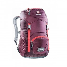 Deuter Junior Rucksack 18L Steel Blackberry Aubergine