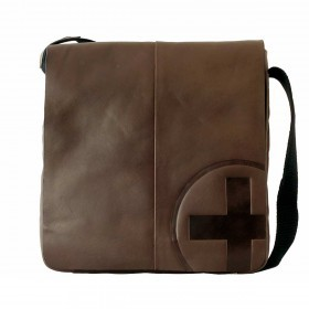 Strellson Jones Messenger MV Dark Brown