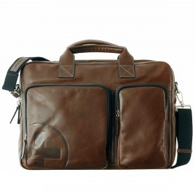 Strellson Jones Soft Briefcase Dark Brown