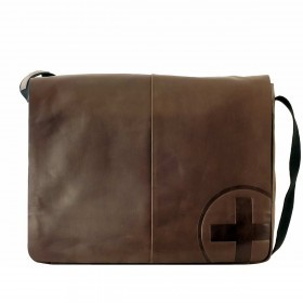 Strellson Jones Messenger LH Dark Brown