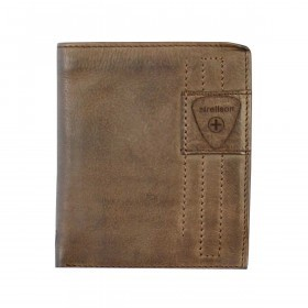 Strellson Upminster Billfold V12 Dark Brown