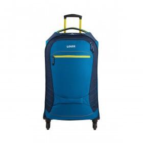 Loubs Sport Spinner-Trolley 4 Rollen M 68cm Blau