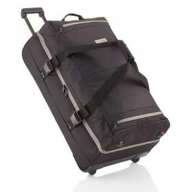 Travelite Basic Doppeldeckertrolley Reisetasche 94l 78cm Schwarz