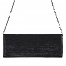 Menbur Clutch Lurexeffekt Black