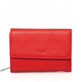 BREE Sofia 108 Reißverschlussbörse Leder Rot