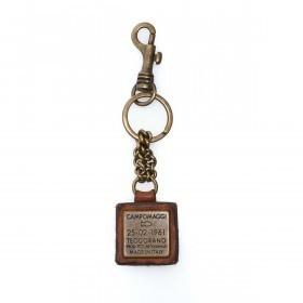 Campomaggi Schlüsselanhänger Leder Cognac PC011