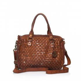 HARBOUR2nd Bowling Bag Fanny Cognac