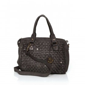HARBOUR2nd Bowling Bag Fanny Dark Ash
