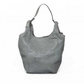 Anokhi Leder-Shopper Cheyenne Grey