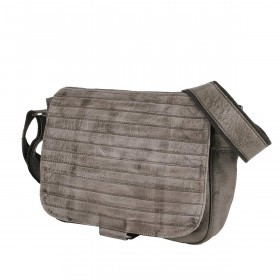 Bull & Hunt Twenty Five Kuriertasche Grey Stripe