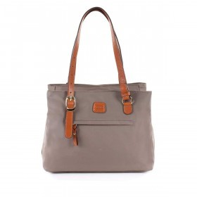 Brics X-Bag 3-Fächer Shopper M BXG35282 Taupe