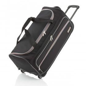 Travelite Basic Trolley Reisetasche XL 83l Schwarz