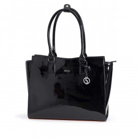 Socha Business Bag Black Mirror