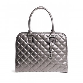 Socha Business Bag Ella Metal Gray