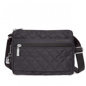 Hedgren Diamond Touch Carina Shoulder Bag Black