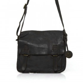 HARBOUR2nd Messenger Bag Funchal Dark Ash