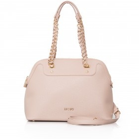 LIU JO Anna Chain Shopping Bag M Nude