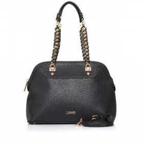LIU JO Anna Chain Shopping Bag M Nero