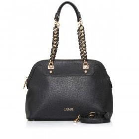 LIU JO Anna Chain Shopping Bag M Nero