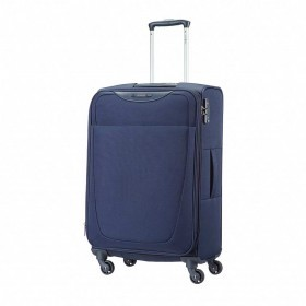 Samsonite Base Hits 59144 Spinner 66 Expandable Navy Blue