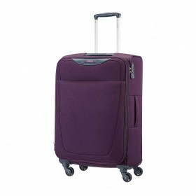 Samsonite Base Hits 59144 Spinner 66 Expandable Purple
