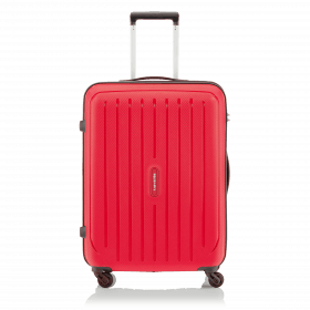 Travelite Uptown 4-Rad Trolley 65cm Rot