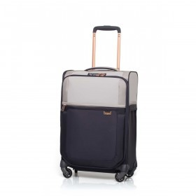 Samsonite Koffer/Trolley Uplite 74758 Spinner 55 Exp. Pearl / Blue