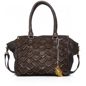 Desiderius Origami Vincenta Shopper Brown