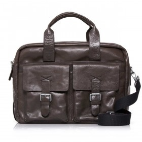 Strellson Greenford Softbriefcase XL Mud