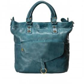 Desiderius Mons Adriana Shopper Leder Blue