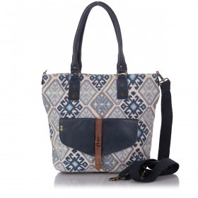 Desiderius Marcelina Tulia Shopper Blue