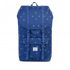 Herschel Rucksack Little America 23L Focus Twilight Blue Rubber