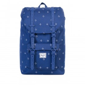 Herschel Rucksack Little America Medium 14L Scattered Focus Twilight Blue Rubber