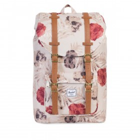 Herschel Rucksack Little America Medium 14L Pelican Flora Tan