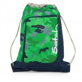 Satch Sportbeutel Green Camou