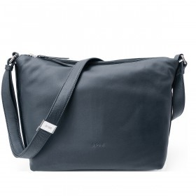 BREE Toulouse 2 Cross Shoulderbag M Leder Navy