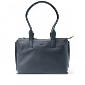 BREE Toulouse 3 Shopper Leder Navy