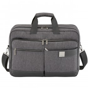 "Titan PowerPack Laptop Bag 15.6"" Mixed Grey"