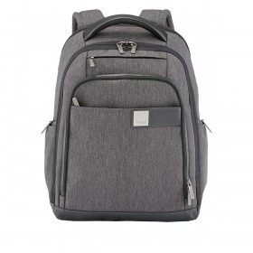"Titan PowerPack Laptop Backpack 15.6"" Mixed Grey"