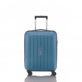 Travelite Uptown 4-Rad Bordtrolley 55cm Blau
