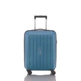 Travelite Uptown 4-Rad Bordtrolley 55cm Blau