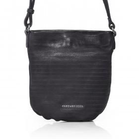 FREDsBRUDER S. C. Round 129-06-74 Crossbag Leder Dark Grey