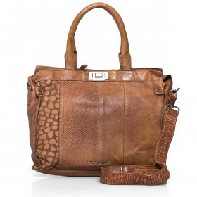 FREDsBRUDER Wild Mix 130-01-125 Shopper Leder Mud Brick