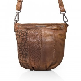 FREDsBRUDER Wild Berry 130-06-125 Crossbag Leder Mud Brick