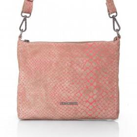 FREDsBRUDER Crazy Hypnotic 133-05-25 Crossbag Leder Pink
