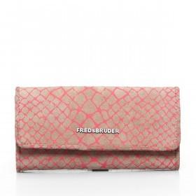 FREDsBRUDER Easy Boa 133-09-25 Damenbörse Leder Pink