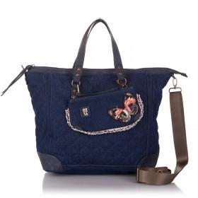 08|16 Zandvoort JeansTote Bag Dark Blue