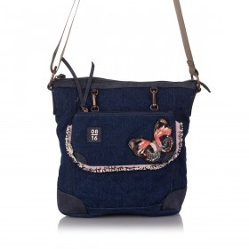 08|16 Zandvoort Jeans Shoulder Bag Dark Blue