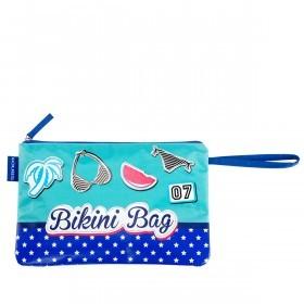 LOUBS Kosmetiktasche Bikini Bag Blau