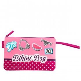 LOUBS Kosmetiktasche Bikini Bag Pink
